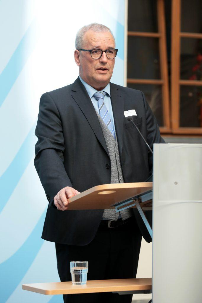 Papieratlas-Veranstaltung 2018: Ulrich Feuersinger (Sprecher der IPR), Foto: Foto Kirsch